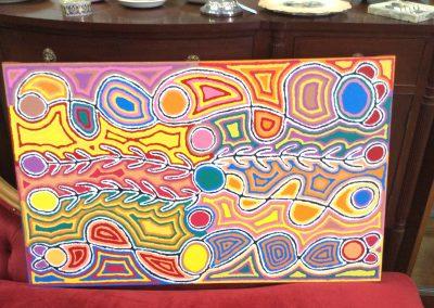 Judy Watson painting