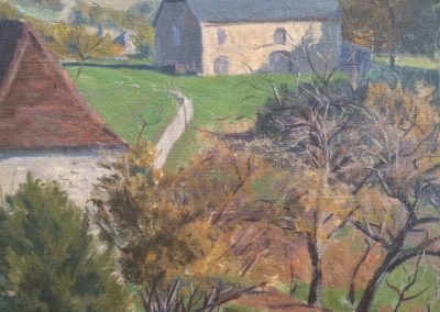 Bessie Davidson painting