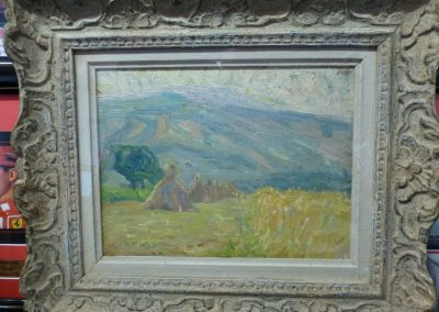 J P Russell Framed Painting