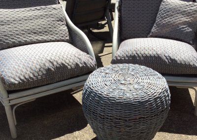 Wicker outdoor setting