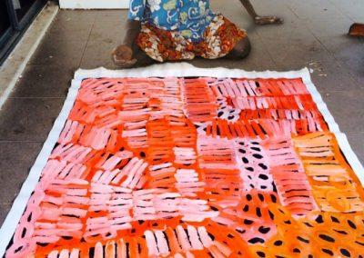 Minni Pwerl Painting