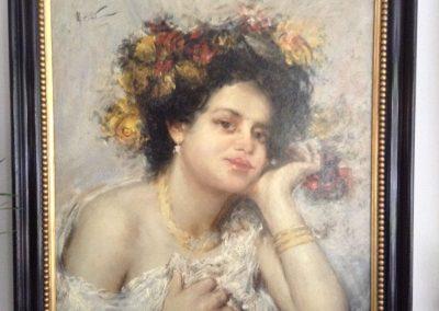 Girolamo Nerli Painting