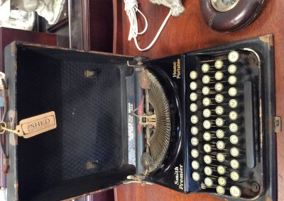 Antique Smith Premier Typewriter