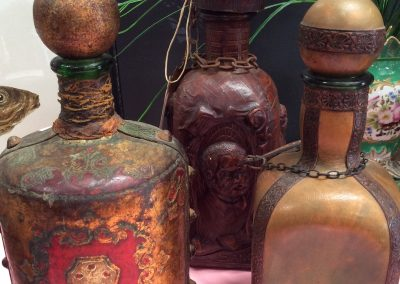 Antique Perfume Pots, The Shed Sunshine Coast Antiques, Cafe, Art Gallery, Jewellery.