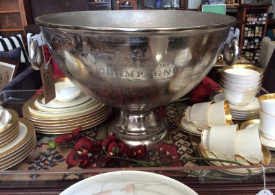 Silver Champagne Punch Bowl