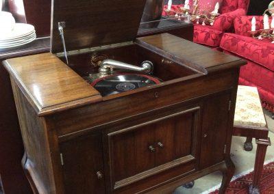 Gramophone Record Player.